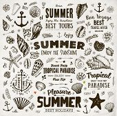 foto of anchor  - Set of Summer Elements - JPG