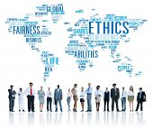 stock photo of moral  - Ethics Ideals Principles Morals Standards Concept - JPG