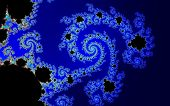 stock photo of mandelbrot  - abstract mathematical fractal - JPG