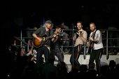 MELBOURNE - MARCH 5: British alternative rock band Coldplay performs onstage at Rod Laver Arena on M