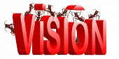 vision goal or revelation development