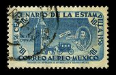 MEXICO - CIRCA 1956: A stamp dedicated to the Don Martin Enriquez de Almanza was the fourth viceroy