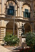 The Grandmaster's Palace yard, Valletta