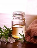 picture of essential oil  - bottle of essential oil wellness products - JPG