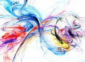 artistic fractal swirls