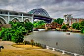 Superior bridge and the Cuyahoga River