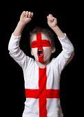 England football fan
