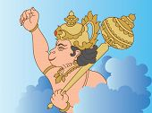 stock photo of hanuman  - Hanuman the hindu ape  - JPG