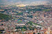 Tegucigalpa Honduras aerial view