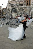Wedding In St Marks Square Venice