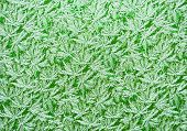 The White Stripes And Chaotic Spots On A Bright Green Background. Texture