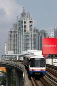 Train In Bangkok, Thailand