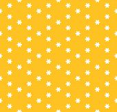 Vector Minimalist Floral Seamless Pattern. Simple Abstract Texture With Small Geometric Flowers, Sno poster