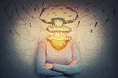 Head Explosion Memory Loss poster