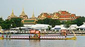 Royal Barge Procession Exercises On The Occasion For Royal Kathin Ceremony