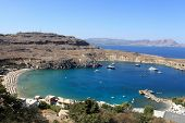 Beach Of Lindos