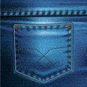 Jeans Vector Background Set 2