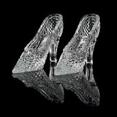 Two Woman Crystal Shoes