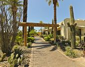 The Entrance To The Wigwam, Litchfield Park, Arizona