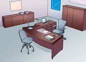 office with  desk and chair