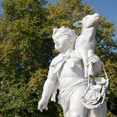 Sculpture of a shepperd