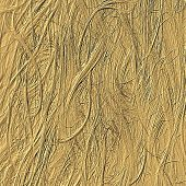 Golden Hair Emboss Background