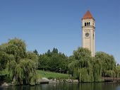 Spokane Clocktower (landscape)