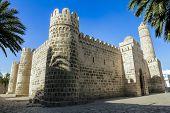 Постер, плакат: Вид Рибат крепость монастырь в городе Сус в Тунисе