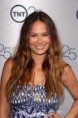 LOS ANGELES - JUL-24: Moon Bloodgood kommt bei TNT 25. Jubiläums-Party im Beverly Hilton