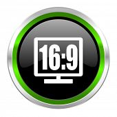16 9 display icon