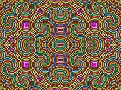 Tribal Colorful Background