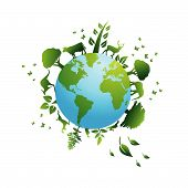 Environmental Icons And Design Elements