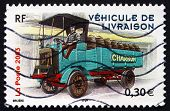 Postage Stamp France 2003 1910 Berliet 22Hp Type M Delivery Truck
