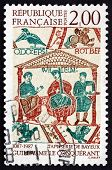Postage Stamp France 1987 William The Conqueror