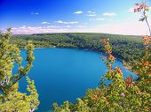 Devils Lake Park do estado de Wisconsin