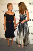 LOS ANGELES - NOVEMBER 13: Carolina Herrera and Rebecca Gayheart at the opening of the Carolina Herr