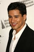 LOS ANGELES - NOVEMBER 21: Mario Lopez in the press room at the 34th Annual American Music Awards at