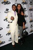 LOS ANGELES - OCTOBER 10: Nick Cannon and Joy Bryant at the birthday party for Nick Cannon and the o