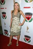 LOS ANGELES - DECEMBER 02: Alana Curry at a party celebrating the launch of the 2007 Ducati Apparel
