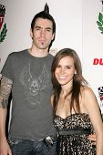 LOS ANGELES - DECEMBER 02: Tyler Connolly and Christine Danielle at a party celebrating the launch o