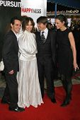 WESTWOOD, CA - DECEMBER 07: Marc Anthony and Jennifer Lopez with Tom Cruise and Katie Holmes at the
