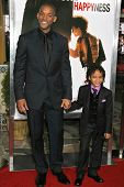 WESTWOOD, CA - DECEMBER 07: Will Smith and Jaden Christopher Syre Smith at the premiere of