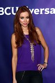 Una Healy at the NBCUniversal TCA Winter Press Tour 2013, Langham Huntington Hotel , Pasadena, CA 01-07-13