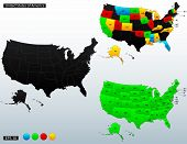 picture of initials  - United States of America map - JPG