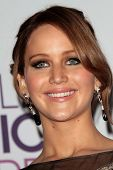 Jennifer Lawrence at the 2013 People's Choice Awards Press Room, Nokia Theatre, Los Angeles, CA 01-09-13