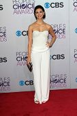 Morena Baccarin at the 2013 People's Choice Awards Arrivals, Nokia Theater, Los Angeles, CA 01-09-13