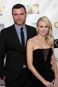 Liev Schreiber and Naomi Watts at the 18th Annual Critics' Choice Movie Awards Arrivals, Barker Hang