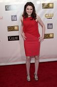 Kara Hayward at the 18th Annual Critics' Choice Movie Awards Arrivals, Barker Hangar, Santa Monica, CA 01-10-13