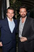 Bradley Cooper, Hugh Jackman at the BAFTA Los Angeles 2013 Awards Season Tea Party, Four Seasons Hot