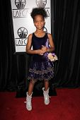 Quvenzhane Wallis at the 38th Annual Los Angeles Film Critics Association Awards, Intercontinental Hotel, Century City, CA 01-12-13